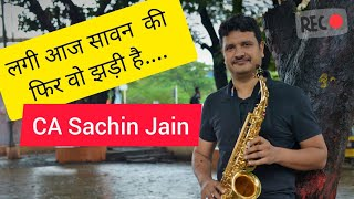 Lagi Aaj Sawan Ki Fir wo Jhadi Hai- Chandni-The Golden Notes-Saxophone