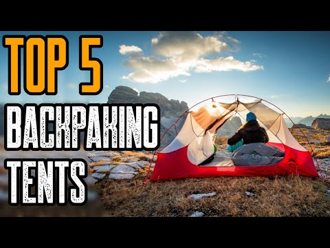 TOP 5 BEST BACKPACKING TENTS 2020 (MSR GEAR)