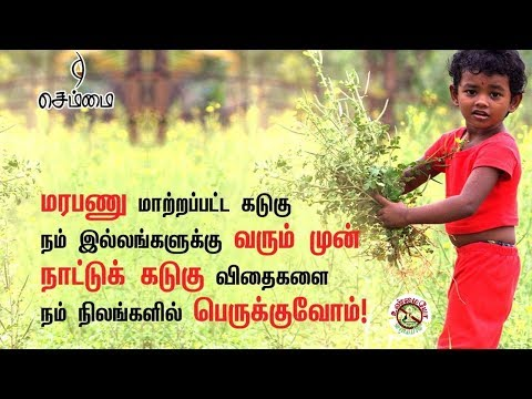 நாட்டு கடுகு பாதுகாப்போம் - ம. செந்தமிழன் No GM in mustard | Illuminati in Tamil