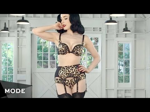 Dita Von Teese's Everyday Lingerie  Get the Look