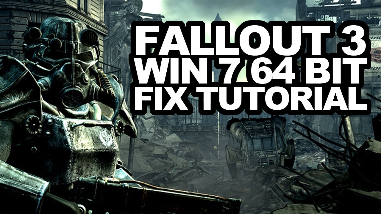 Fallout 3 goty deutsche version uncut machen + anti-freeze youtube.