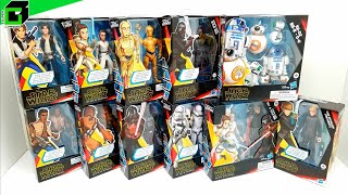 New STAR WARS The Rise of Skywalker (Complete Set) by HASBRO Unboxing and Review!