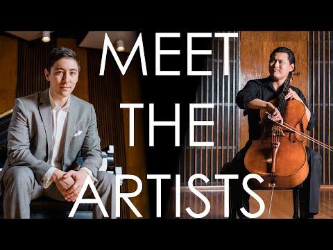 Meet the Artists   Jonah Kim & Sean Kennard   Rachmaninoff & Barber: Cello Sonatas   Delos