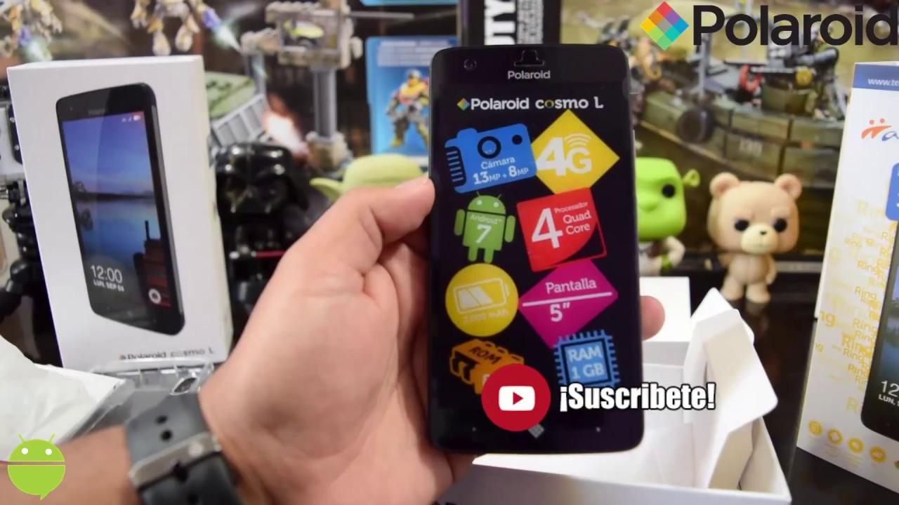 7f90f8b0b0 Polaroid Cosmo L Unboxing: Caracteristicas y Especificaciones - YouTube