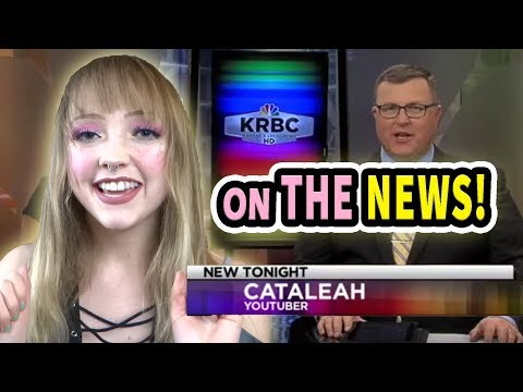 I was on the NEWS for my channel!