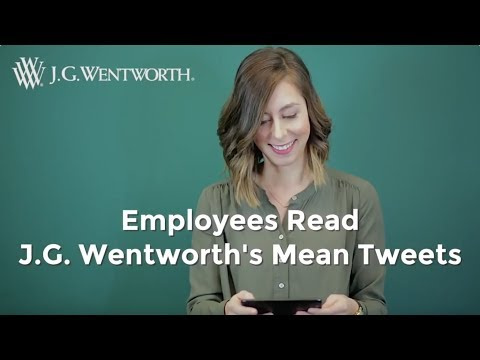 Employees Read Mean Tweets | Best Twitter Responses | J.G.Wentworth