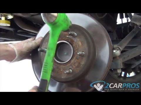 Front Bearing Hub and ABS Wheel Sensor Replacement Chevrolet Tahoe, Suburban, Silverado 2000-2006