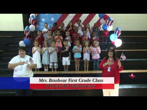 D'Iberville Elementary School - Mrs. Brashear's First Grade Class