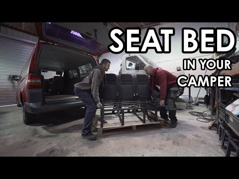 HOW TO PROFESSIONALLY INSTALL A SEAT BED IN YOUR CAMPER (RIB 130 Slider)