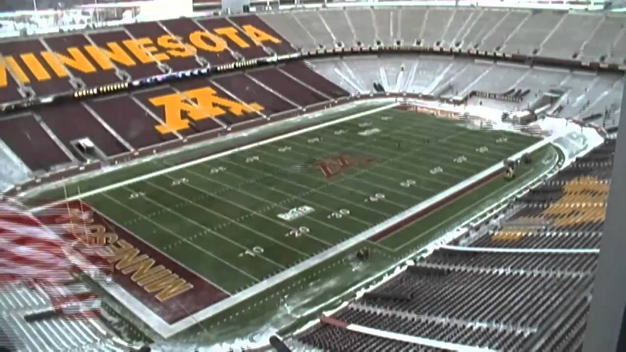 Time Lapse Of Snow Removal From Tcf Bank Stadium Youtube