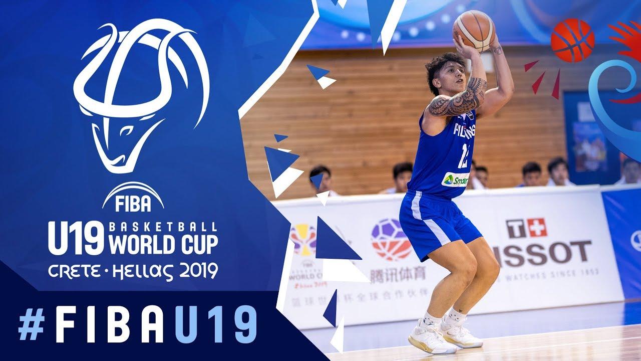 China v Philippines - Highlights - Class. 13-16 - FIBA U19 Basketball World Cup 2019