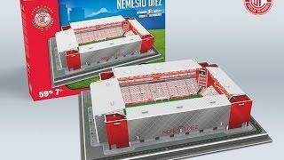 "Estadio Nemesio Díez, ""La Bombonera"" del Toluca F.C. | Nanostad - Puzzle 3D"