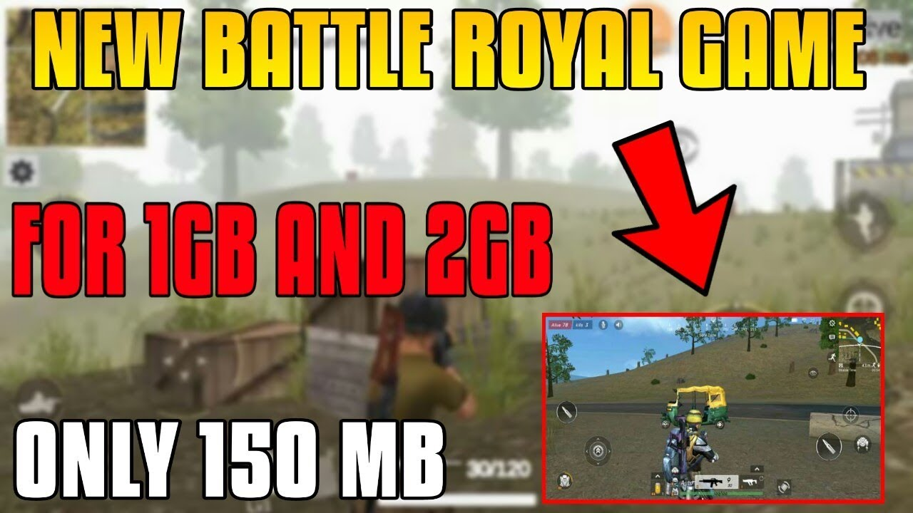 🔥New Survival Game like Pubg for 1gb and 2gb ram - Survival