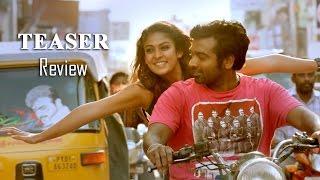Naanum Rowdydhaan Teaser Review | Vijay Sethupathi, Nayantara, Parthiban