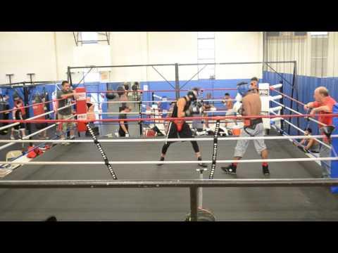 Alan sparring at San Fernando Gym Rd 1-3