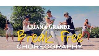 Ariana Grande - Break Free ft. Zedd | Duc Anh Tran Choreography | @DukiOfficial @ArianaGrande