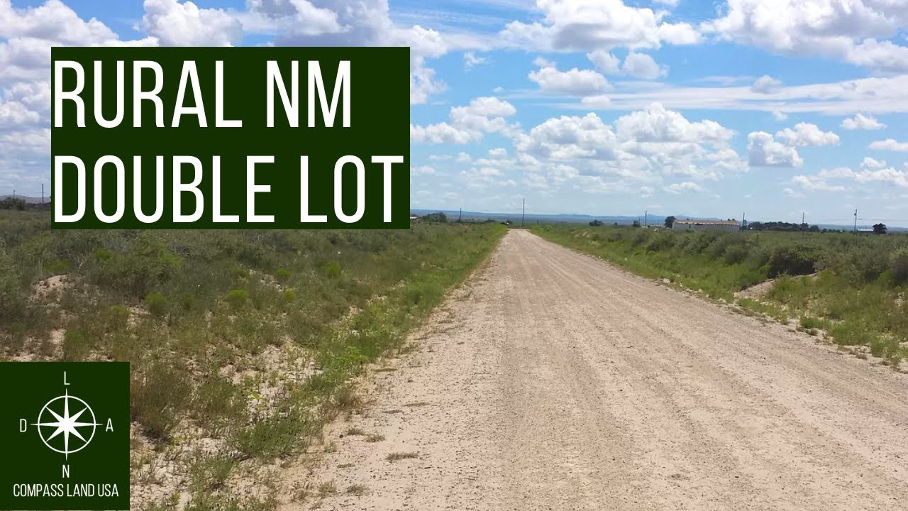 Sold by Compass Land USA - Double 2 Acres Land with Power & Gas Less than 1 Hour from Albuquerque