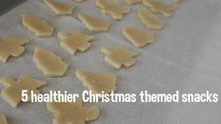 5 Healthier Christmas Snacks! Toddler friendly! Ritz cracker recipe! Thumbnail