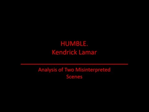 HUMBLE. Kendrick Lamar HIDDEN MEANINGS!  REACTION/ANALYSIS VIDEO
