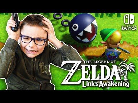 SWAN RAGE SUR ZELDA LINK'S AWAKING Sur Nintendo Switch !