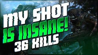 NASTY Snipes and Clean Kills! 36 Kill Match (Destiny 2 PvP Full Match)