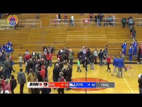Boys Basketball Blackford vs Jay County Varsity