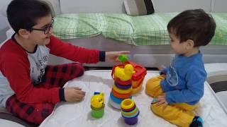 Berat'ın renkli oyuncakları