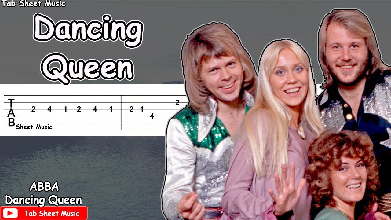 ABBA - Dancing Queen Guitar Tutorial