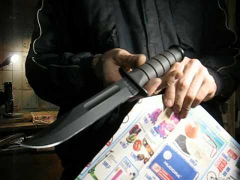 Опыт № 27 Нож армейский Ka Bar