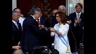 Asunción de Cristina Fernández de Kirchner: jura y primer discurso como presidenta, 2007 (parte II)