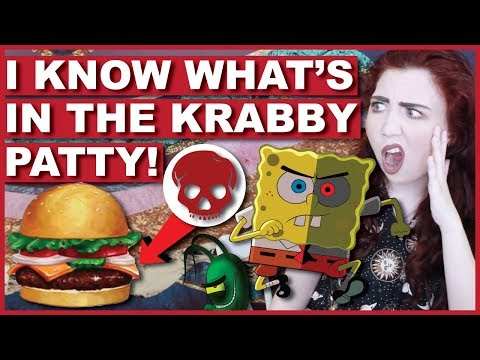 DISTURBING Spongebob Conspiracy Theories | Krabby Patty Secret