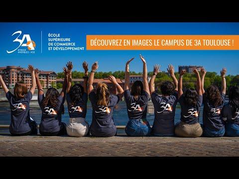 Découvrez le campus de 3A Toulouse