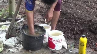 Cara Mudah Membuat Pupuk Kompos Kotoran Hewan Sekam Bakar dan Sampah Organik Part 2 Proses Pembuatan