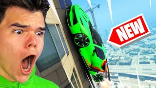 *NEW* WALLCLIMB SUPERCAR DLC In GTA 5! (Insane)