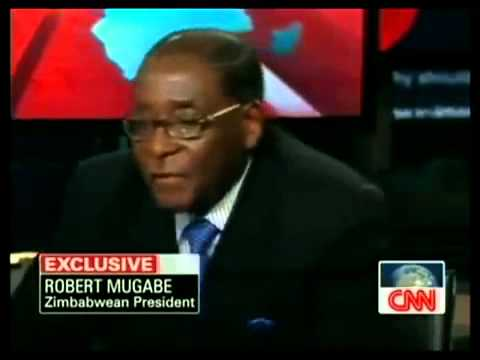 Mugabe talking about Desmond Tutu and ICC
