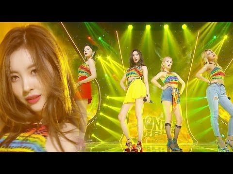 《SEXY》 Wonder Girls(원더걸스) - Why So Lonely @인기가요 20160717