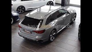 Audi RS4 Avant facelift mieten / rent
