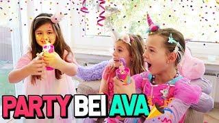 Party Pop Teenies Einhorn Party mit ALLES AVA & Spielzeugtester 😍 Lulu & Leon