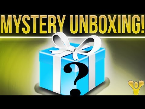 Destiny 2. MYSTERY UNBOXING!! (No It's Not a Destiny 2 Fidget Spinner)