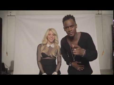 Shakira & Black M - Comme Moi (Video Shoot)