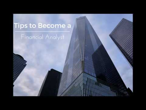 Tips to Become a Finanical Analyst by David Milberg