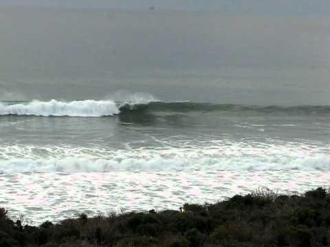 Surf At Sunset Jamala Beach County Park Near Lompoc Ca