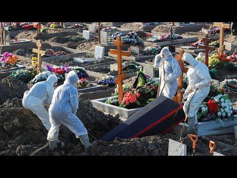 В России умерли 524 человека с коронавирусом за последние сутки
