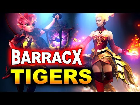 TIGERS vs BARRACX - FINAL - SEA Cyber Arena 2018 DOTA 2