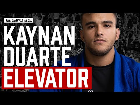 BJJ ELEVATOR SWEEP - ADCC Champion Kaynan Duarte