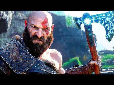 GOD OF WAR 4 Gameplay Walkthrough (2018) Developer Demo