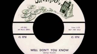 GEORGE WESTON - Well Don