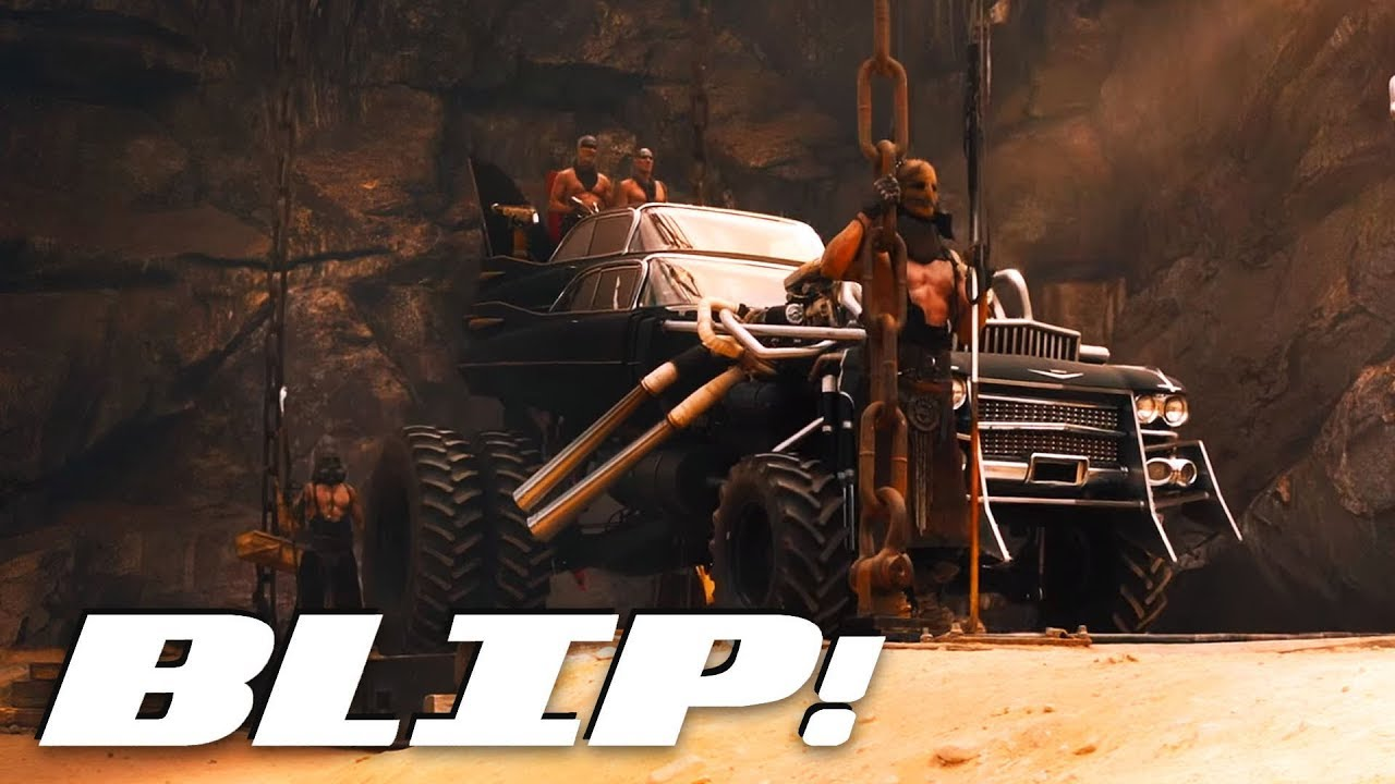 the apocalyptic cars of 39 mad max fury road 39 blip youtube. Black Bedroom Furniture Sets. Home Design Ideas