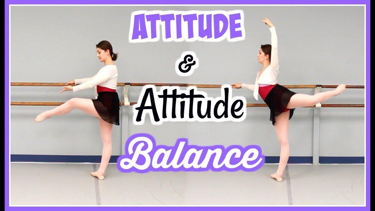 Ballet Technique - Attitude and Attitude Balance | Kathryn ...