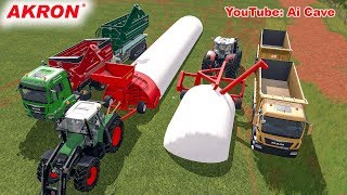 "[""How to"", ""use"", ""grain"", ""baggers"", ""Akron"", ""Mods"", ""Ai Cave"", ""FARMING SIMULATOR 17"", ""FARMING SIMULATOR 2017"", ""Landwirtschafts-Simulator 17"", ""Landwirtschafts-Simulator 2017"", ""MAN TGS"", ""Peterbilt 377"", ""Claas Lexion 780"", ""Fendt 820"", ""Massey Ferg"